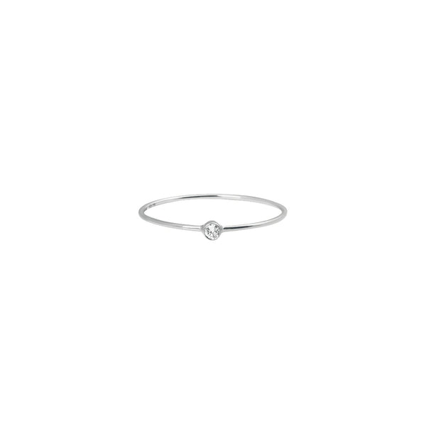 Vanrycke One Diamond Ring White Gold