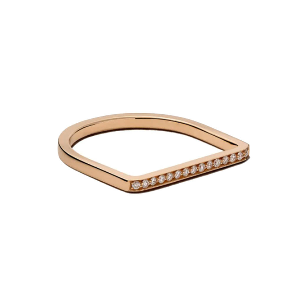 Vanrycke Medellin 18k Rose Gold and Diamonds Ring