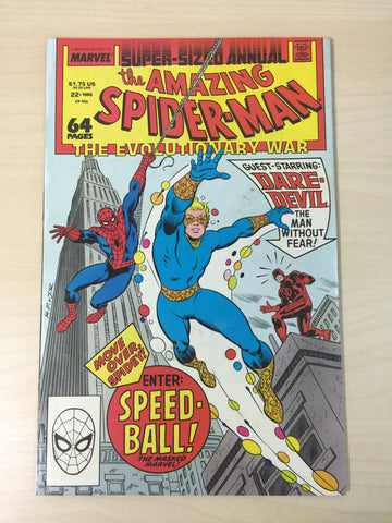 The Amazing Spider-Man Annual 22 *** First Appearance of Speedball***