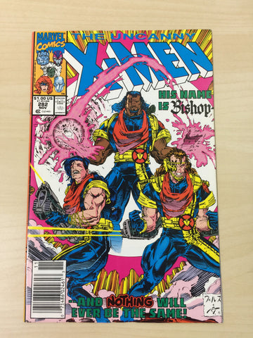 Uncanny X-Men 282 ***First Appearance of Bishop***