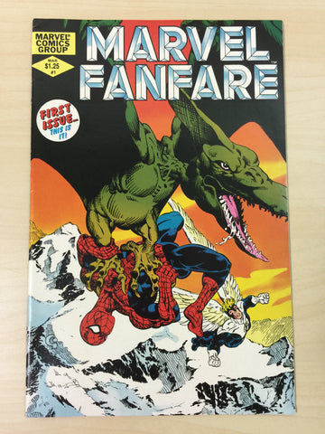 Marvel Fanfare #1 ***First Appearance of Vertigo***