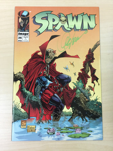 Spawn 26 ***Signed by Greg Capullo***