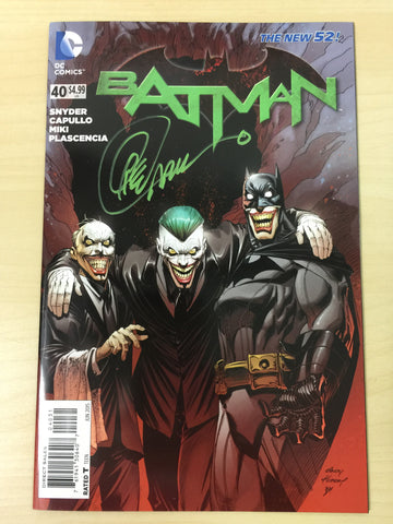 Batman 40 ***Signed by Greg Capullo***