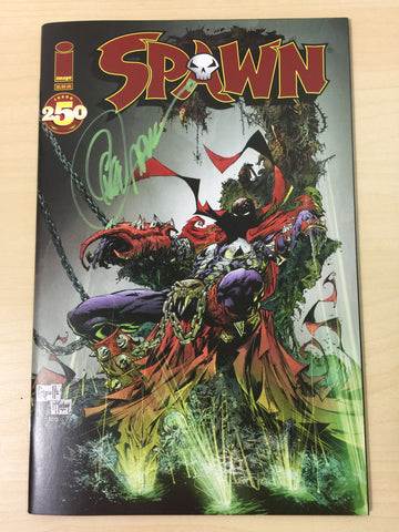 Spawn 250 ***Signed by Greg Capullo***