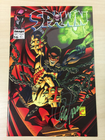 Spawn 16 **Signed by Greg Capullo**