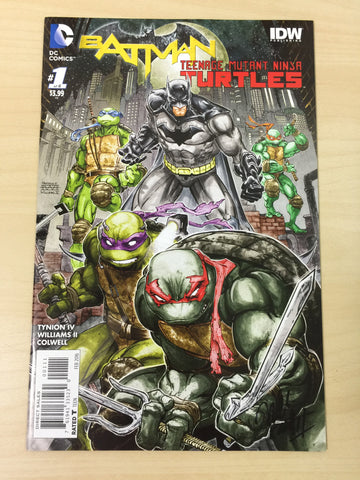 Batman/Teenage Mutant Ninja Turtles 1 **Signed**