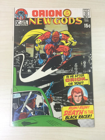 New Gods 3 **First Appearance of The Black Racer**