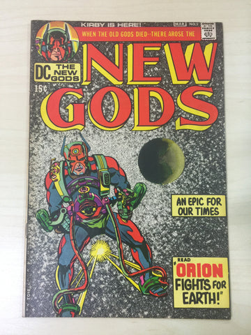 New Gods 1 **First Appearance of Orion & Apokolips***