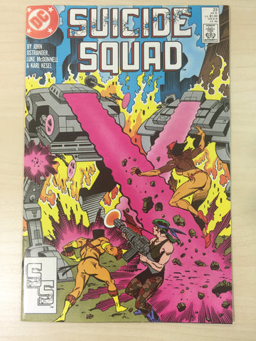 Suicide Squad 23 **First Appearance of Oracle**