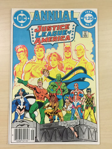 Justice League Annual 2 ** First Appearance of Vibe**
