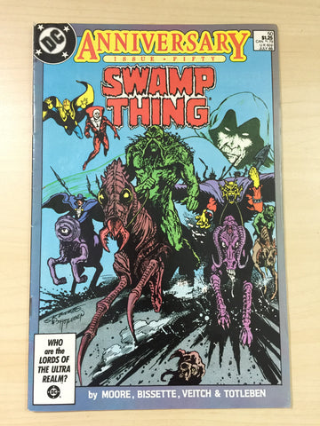 Swamp Thing 50 **First Appearance of Justice League Dark**