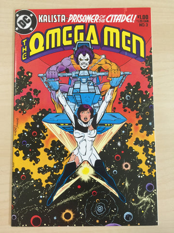 Omega Men 3 ***First Appearance of Lobo***