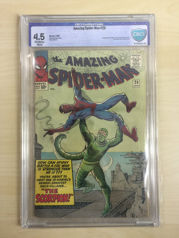 Amazing Spider-Man 20 ***CBCS 4.5***First Appearance of Scorpion***