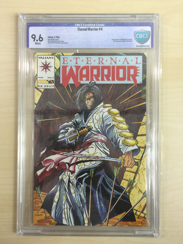 Eternal Warrior 4 ***CBCS 9.6*** First Appearance of Bloodshot***