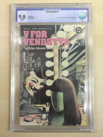 V for Vendetta ***CBCS 9.8***