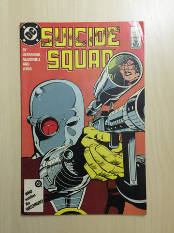 Suicide Squad Vol 1 #6 ***Deadshot Cover***