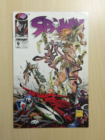 Spawn #9 ***First Appearance of Angela***