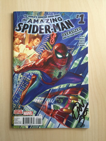 The Amazing Spider-Man Vol 4 #1 **Signed**