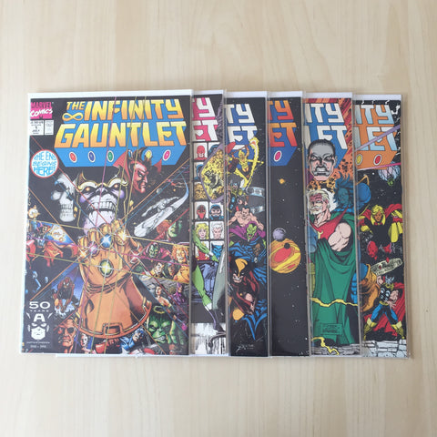 The Infinity Gauntlet 1-6 Set ***High Grade***