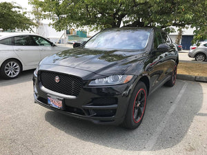 Jaguar F-Pace with a Qvia AR790.