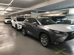 Openroad Lexus Richmond. 2017 Lexus NX200t with a Qvia AR790