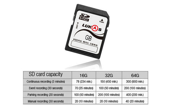 Lukas 32GB Memory Card