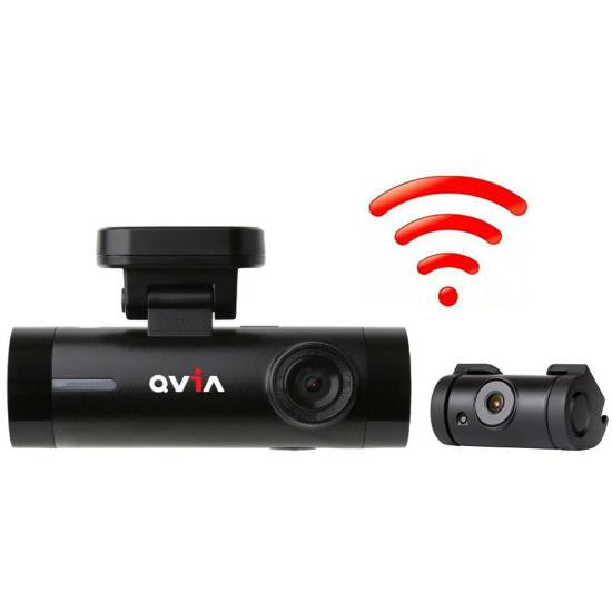QVIA AR790 Dash Cam BlackBox 16GB (FULL HD+FULL HD) TYPE B GPS