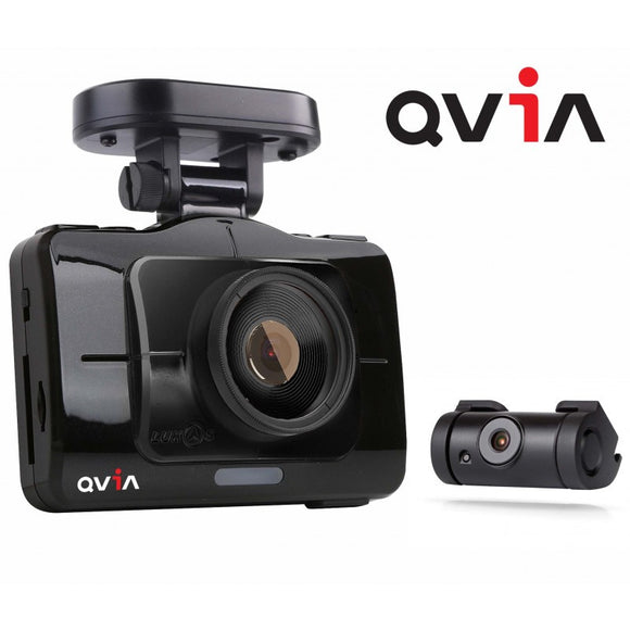 QVIA R935 Dash Cam BlackBox 24GB (FULL HD+FULL HD) TYPE A W/O GPS