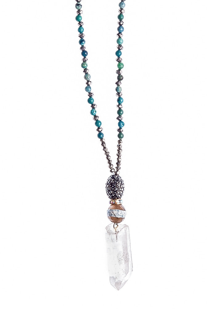 Turqoise Crystal Necklace