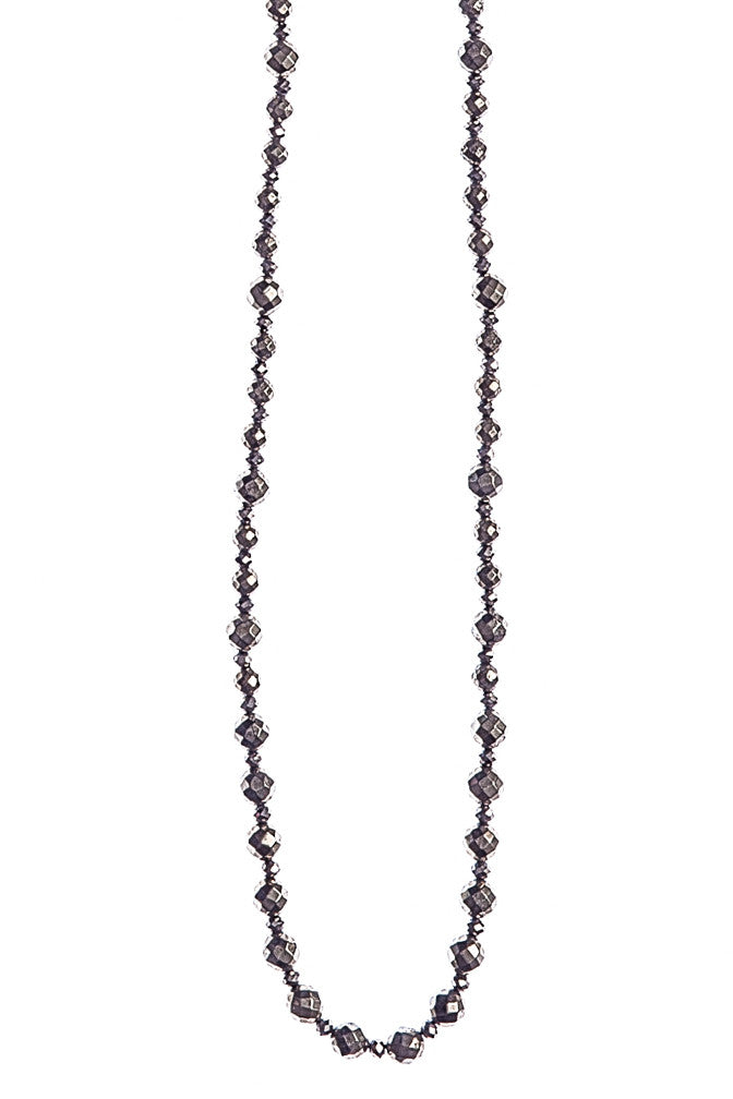 Pyrite Strand Necklace