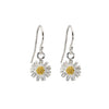 Daisy Silver Earrings