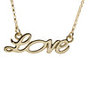Love Necklace in Gold