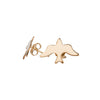 Dove Gold Stud Earrings