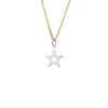Silver Star on a Gold Chain