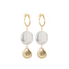 Sea shell and Pearl Earrings