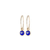 Small Evil Eye Hoop Earrings in Gold