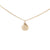 Clam Shell Necklace in Gold