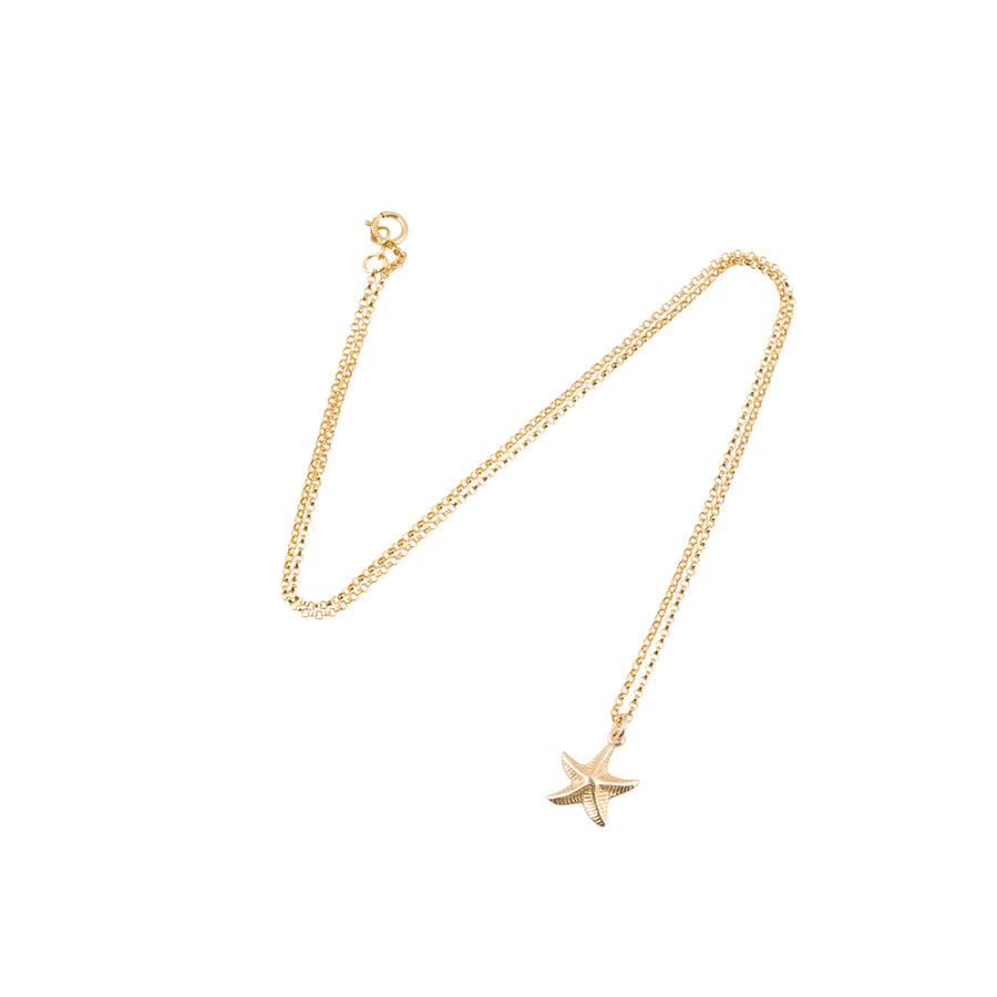 Starfish Necklace in Gold
