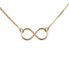 Infinity Necklace in Gold