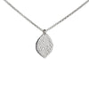 Leaf Necklace in Silver