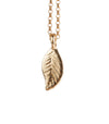 Leaf Necklace in Gold