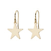 Star Earrings in Gold