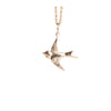 Swallow Necklace in Gold
