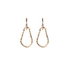 Teardrop Earrings in Gold
