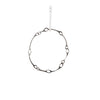 X-large Circle Silver Necklace