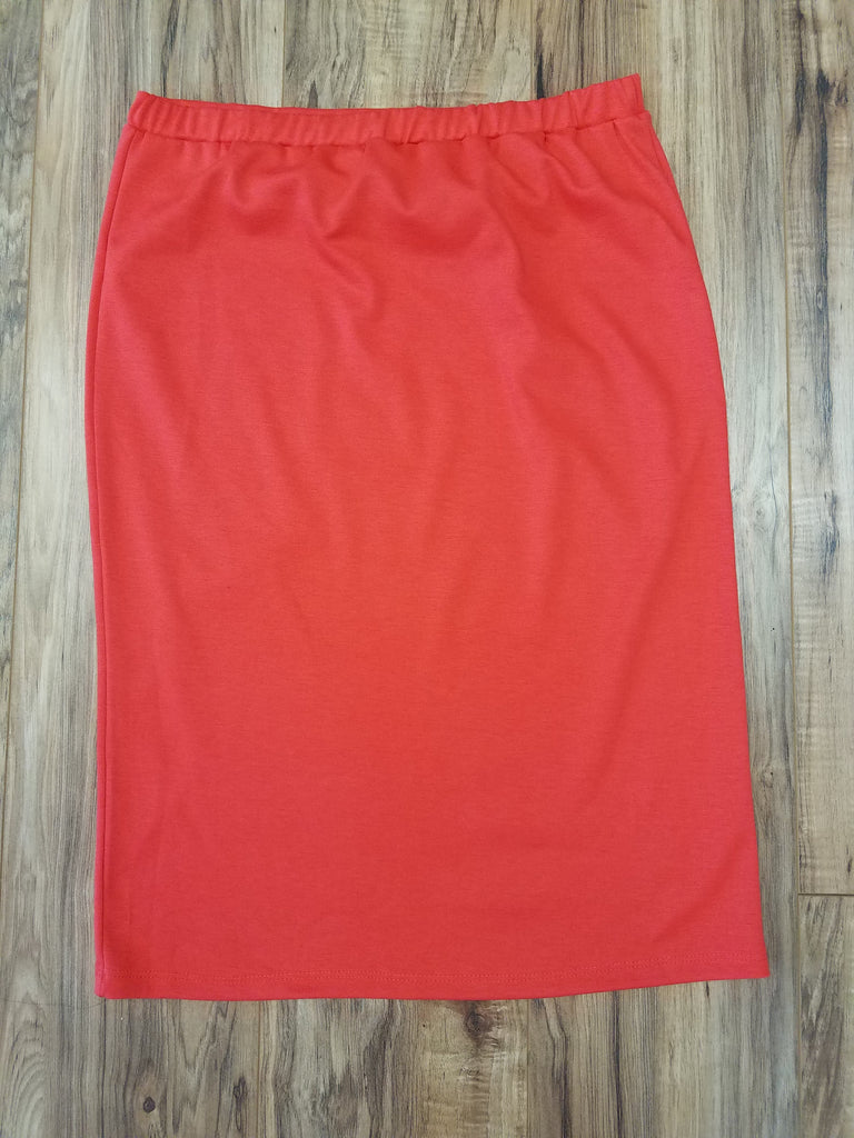 Coral Knit Skirt