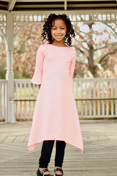 Girls 'Ashley' Dress - Pink