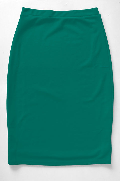 Emerald Premium Knit Skirt