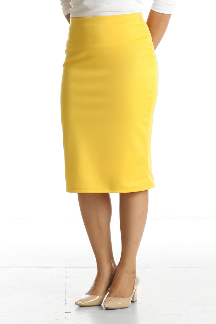 'Riley' Sunshine Yellow Skirt