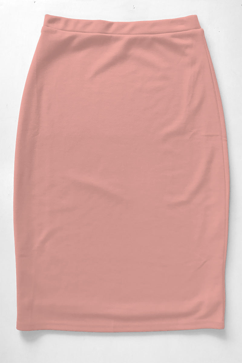 Blush Premium Knit Skirt